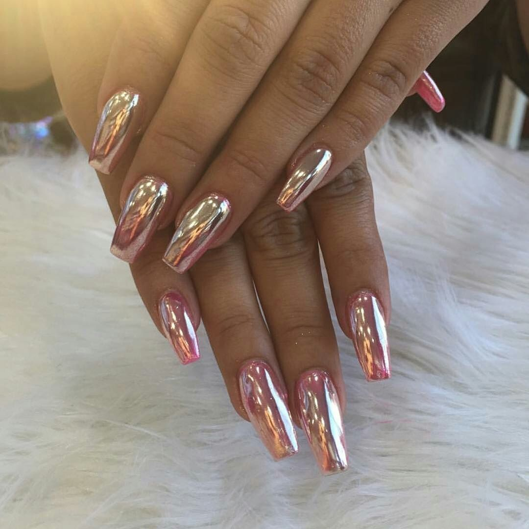 Pinterest @18Redhead | Tough as nails | Pinterest | Chrome nails ...