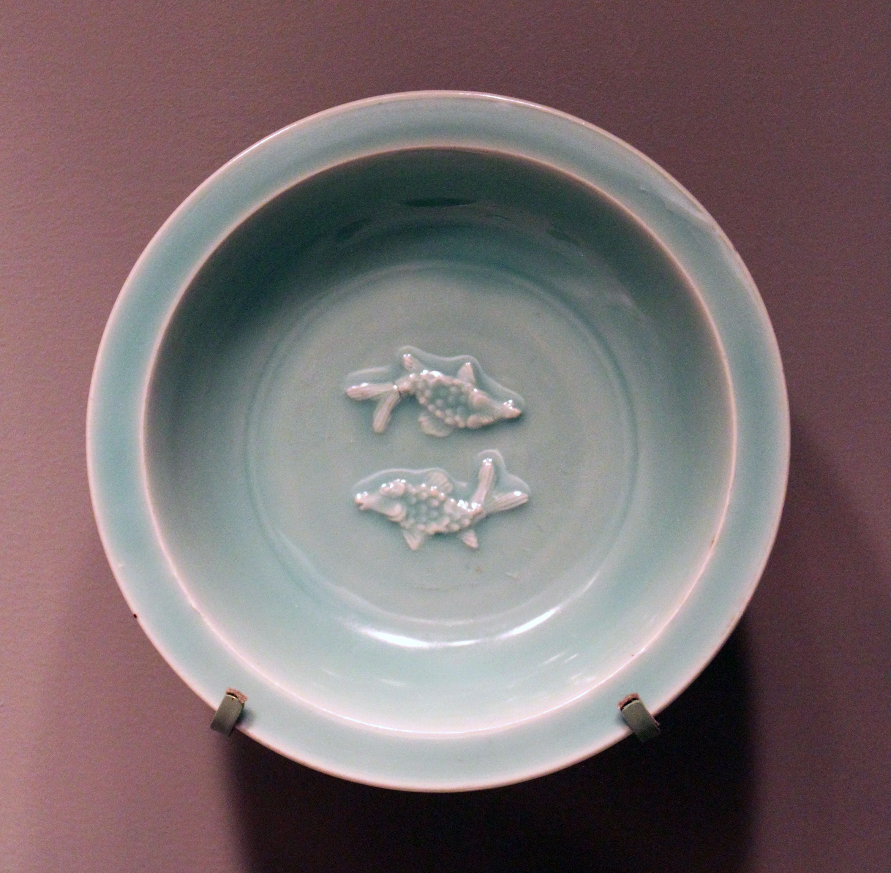 Bowl with double fish motiff china sung dynasty 12th 13th century bowl with double fish motiff china sung dynasty century lung chuan ware the double fish motif seen here is a traditional chinese symbol of marital buycottarizona Gallery