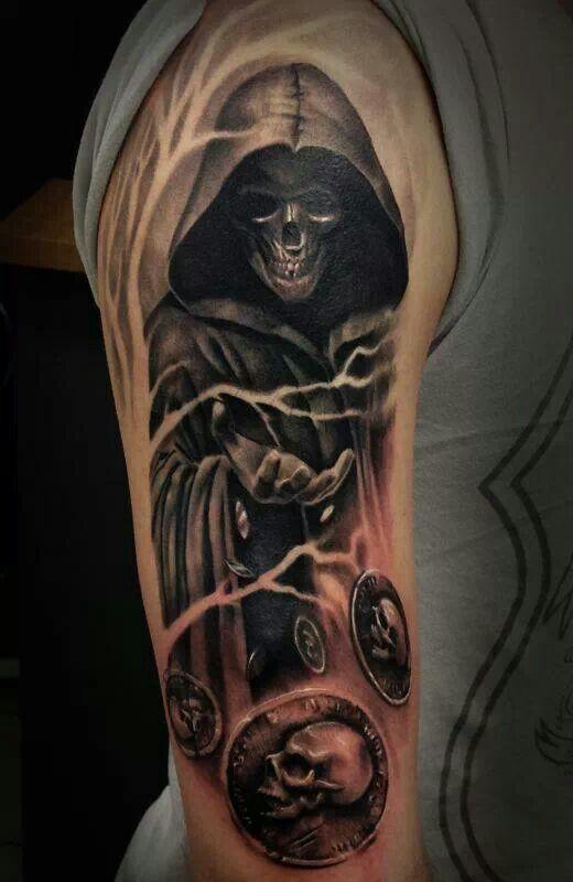 grim reaper tattoo 13