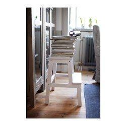 bekv m marchepied blanc escabeaux mat riaux naturels et bois massif. Black Bedroom Furniture Sets. Home Design Ideas