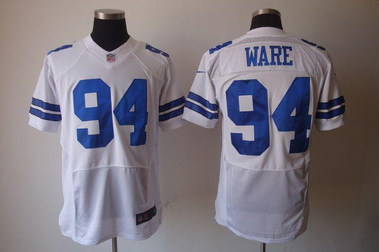 356acc6cd Nike NFL Jerseys Dallas Cowboys Demarcus Ware #94 White ...