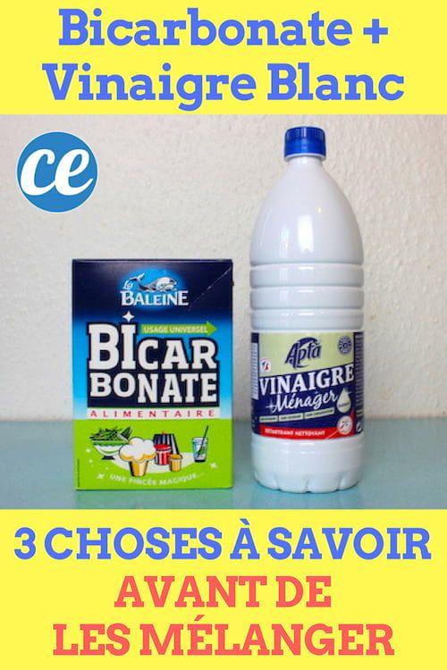 3 Choses A Savoir Avant De Melanger Du Bicarbonate Avec Du Vinaigre Blanc Vinaigre Blanc Vinaigre Et Bicarbonate Bicarbonate De Soude Vinaigre