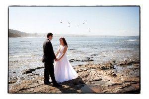 The wedding dress and six birdies