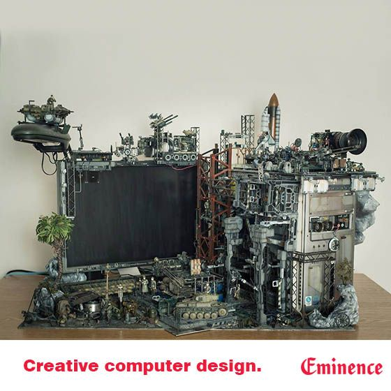Custom Creative: For The Creative Innovative This Awesome, Industrial Look