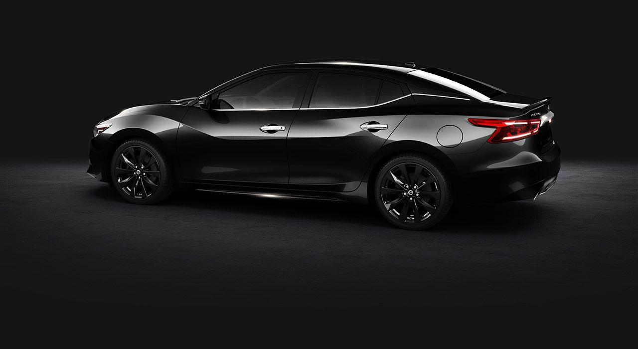 all black 2017 nissan maxima sr midnight edition edition a pinterest nissan maxima nissan. Black Bedroom Furniture Sets. Home Design Ideas