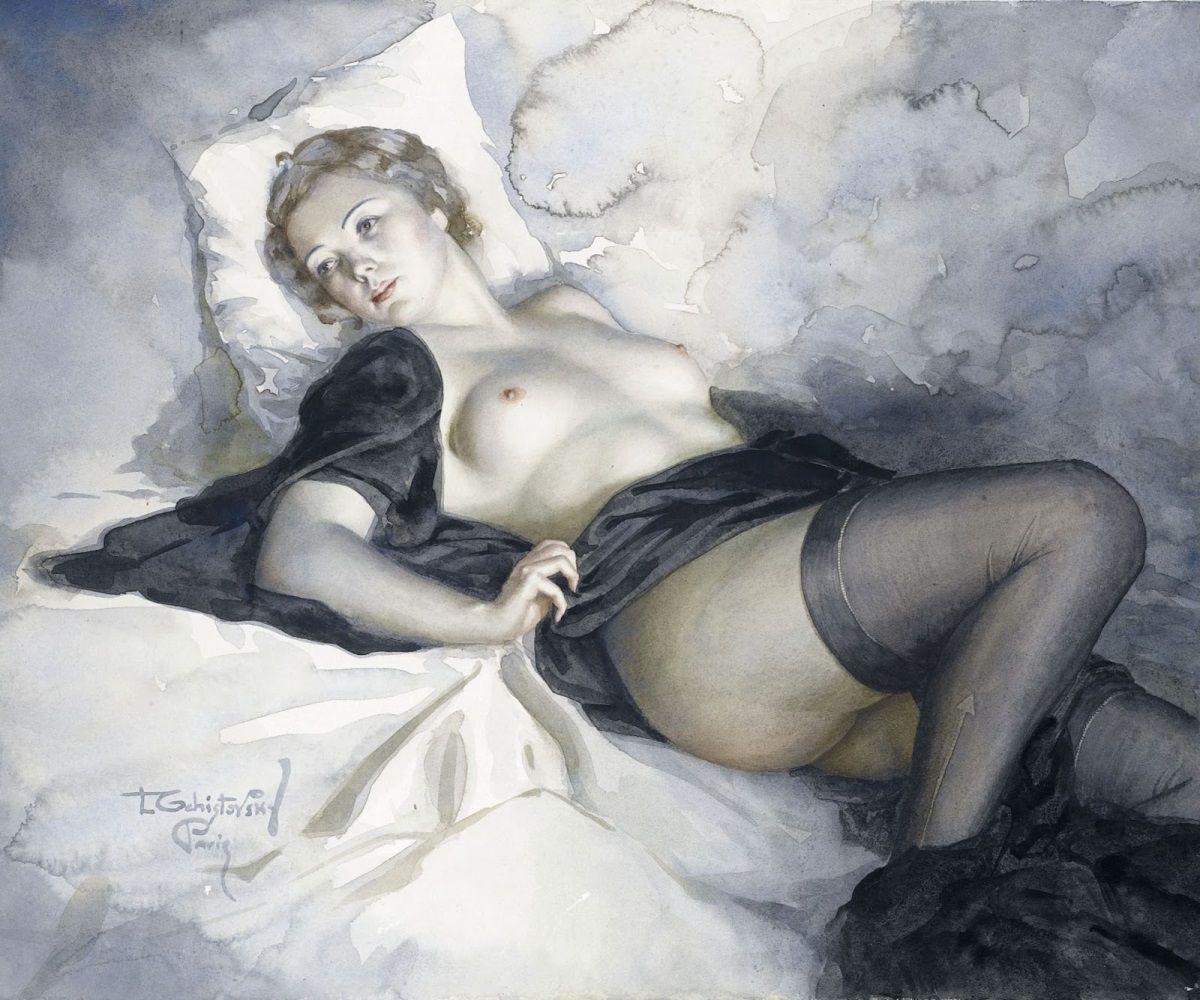 рисунки знаменитых художников эротические рунете