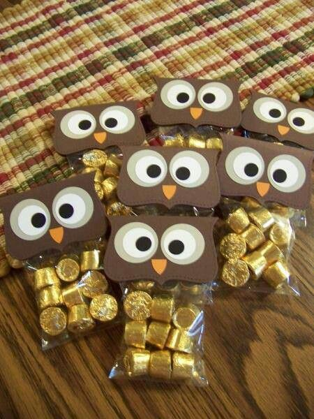 Tricks of the Trade Thursdays End of Year Gifts Pinterest Owl - halloween gift bag ideas