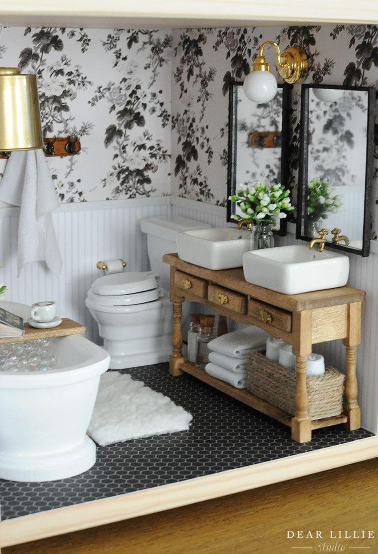 Photo of Dollhouse – Our Bathrooms – Dear Lillie Studio