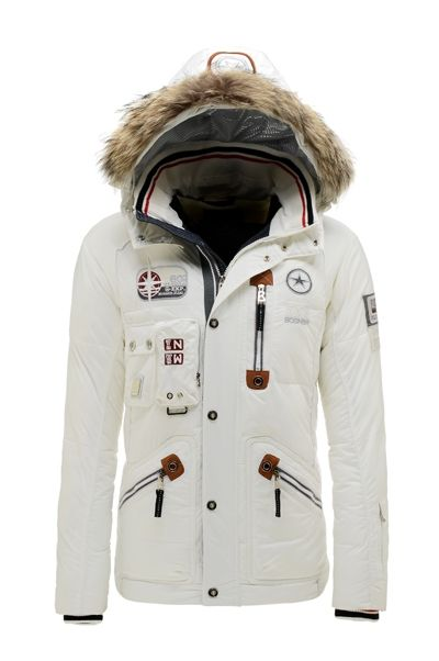 New Bogner Men 3208 White Eric-D Ski Jacket   Jackets   Jackets ... a34db32bf0