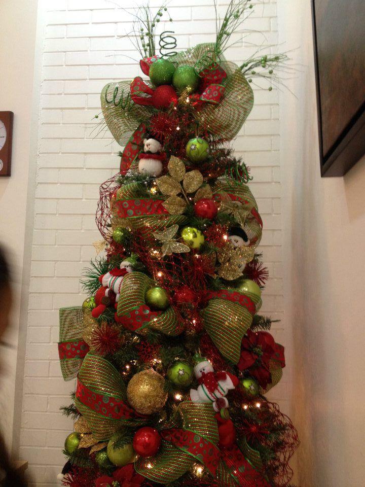 Ideas para decoracion de arbol de navidad 2015 arreglos for Decoracion christmas navidenos