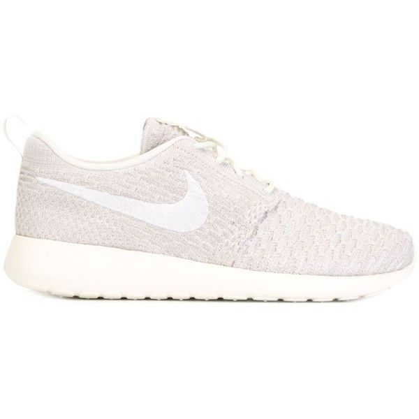 0d57551d96941 Nike Roshe One Flyknit Sneakers ( 135) ❤ liked on Polyvore featuring shoes