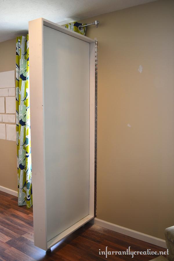 Paint Shelf With Hidden Door Doors Hidden Spaces And