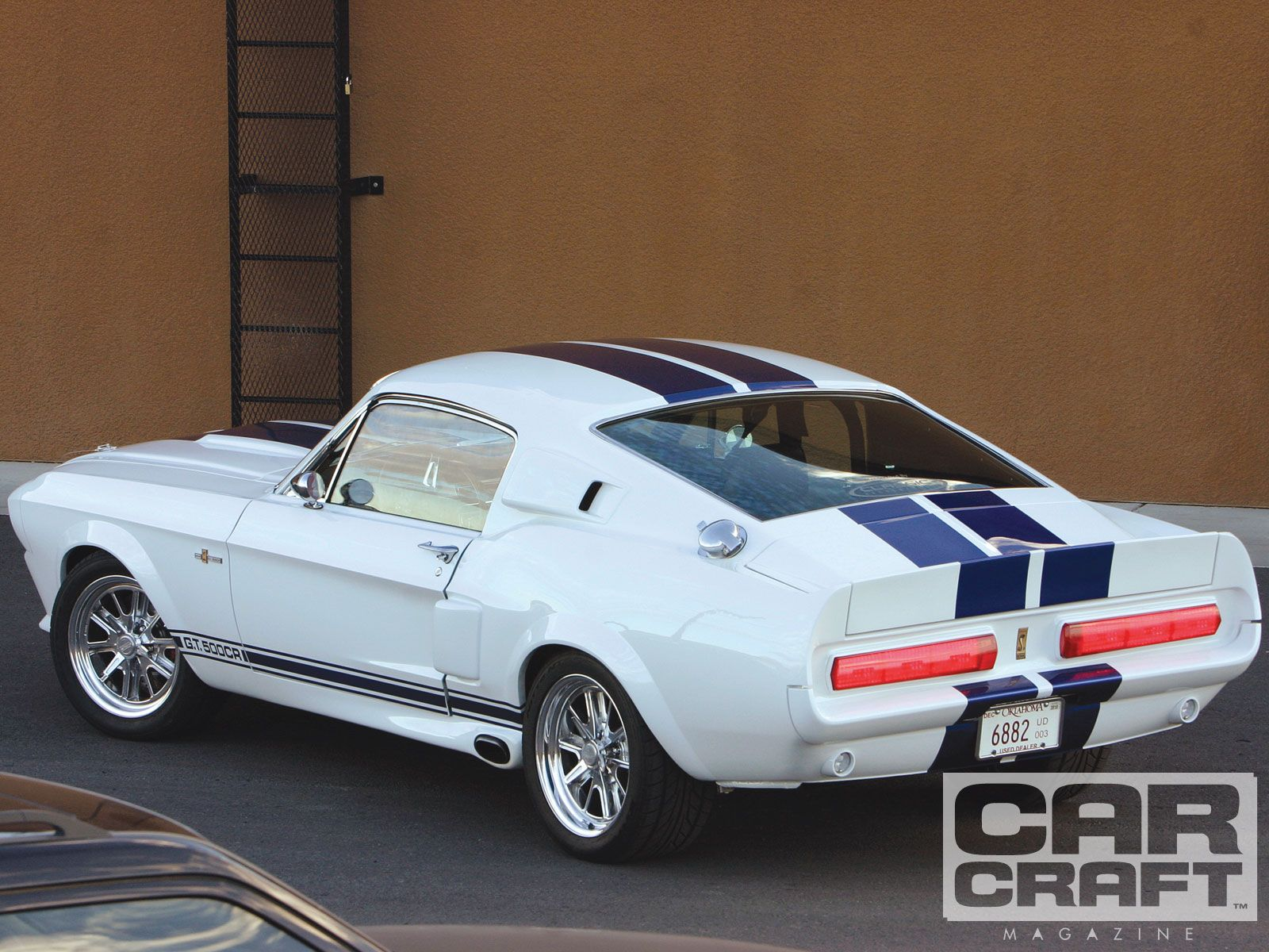 1967 mustang shelby gt500 white 2004 ford