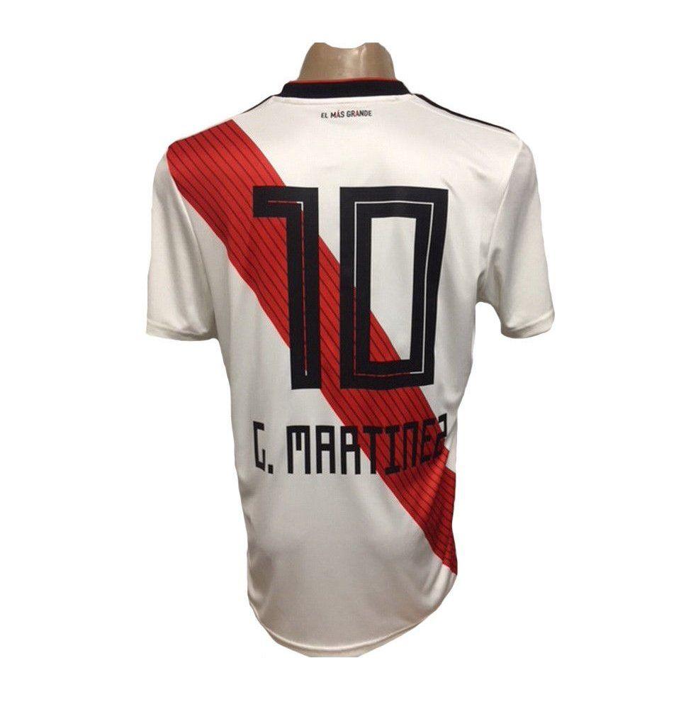 7f83075a1b5 C.MARTINEZ+#+10+River+Plate+2018/2019+Copa+Libertadores+Home+Soccer+Jersey#footy  #football #futbol #soccer #visubal #rldesignz #adidas #nike #knuckleball ...