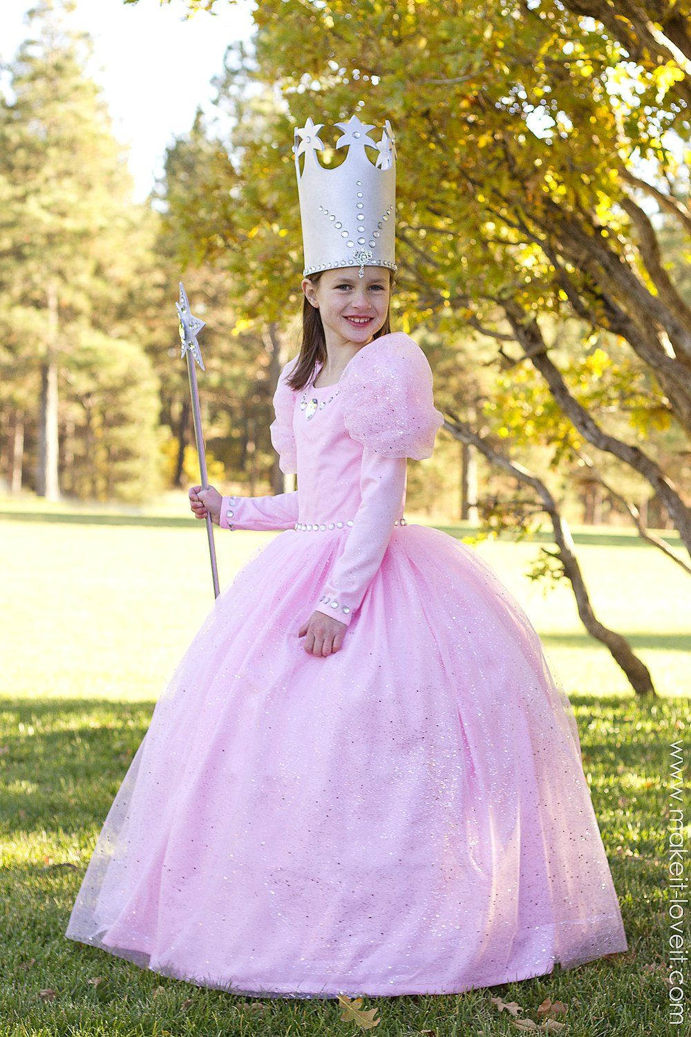 DIY  Glinda the Good Witch  Costume (from Wizard of Oz) | via Make It and Love It  sc 1 st  Pinterest & Glinda the Good Witch (from