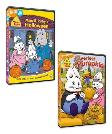 Max   Ruby s Halloween   Perfect Pumpkin DVD Set by Max   Ruby  zulilyfinds 77c7463dfe27
