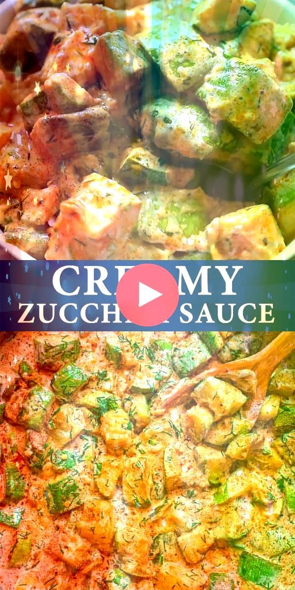 zucchini season and youve got to try this recipe Fresh flavorful and so versatile this Zucchini Sauce pairs well with pasta quinoa rice and many other grains If you are l...