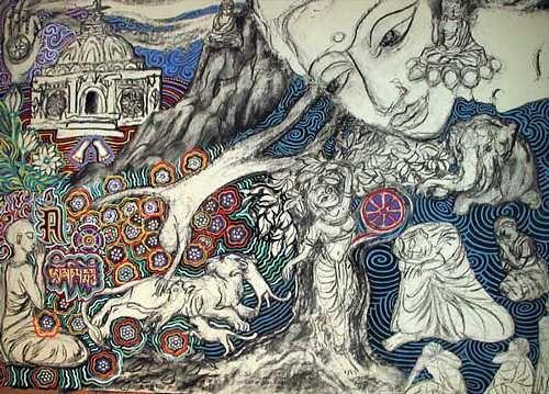 Symbolist Art Symbolism In Modern Art Cigal Art Mythology Symbol