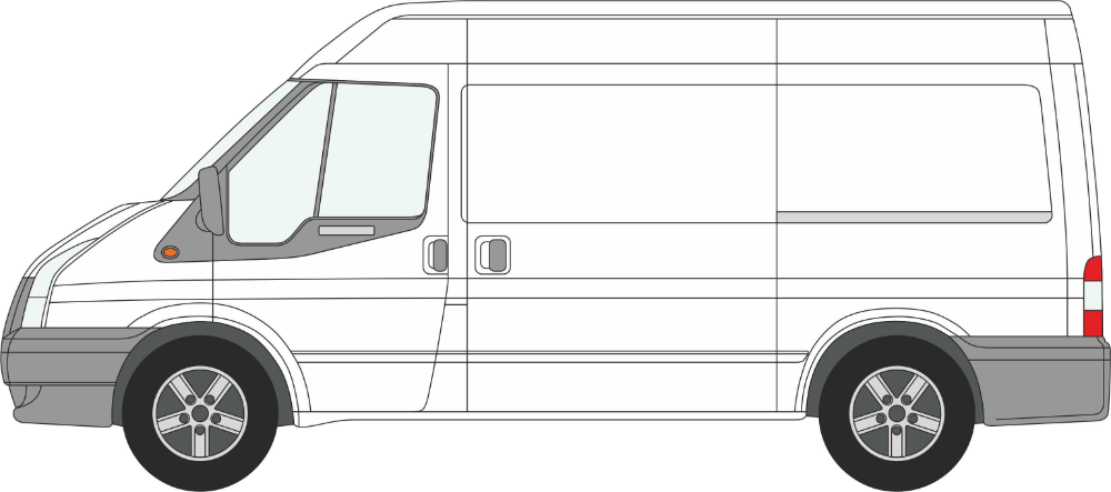 White Van Drawing Google Search Ford Transit Van Drawing Van