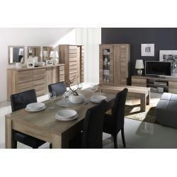 Photo of Living room set – C Nestorio, 9 pieces, color: Steinersteiner oak – home / decor
