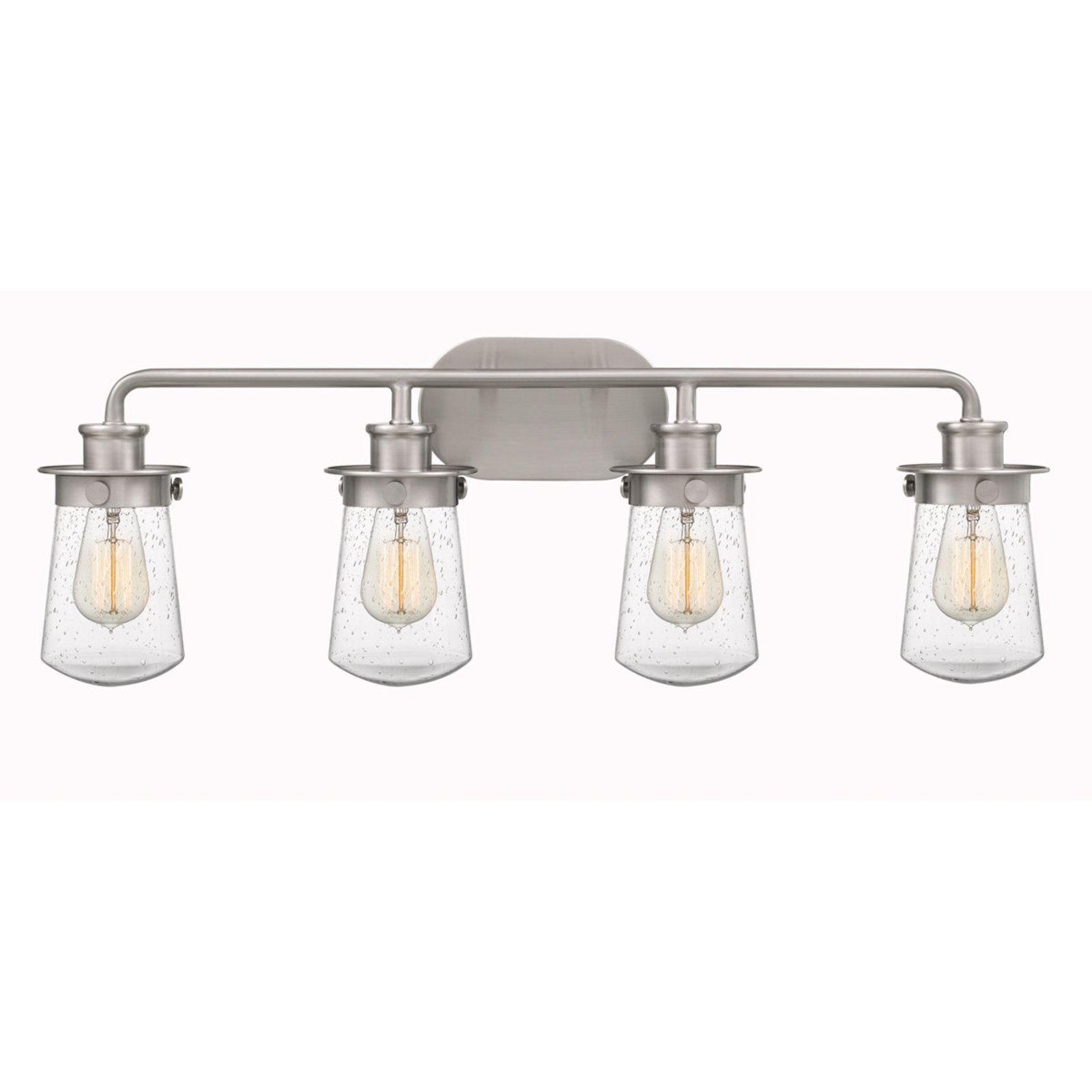 Soft Dome Vanity Light 4 Light Vanity Lighting Industrial