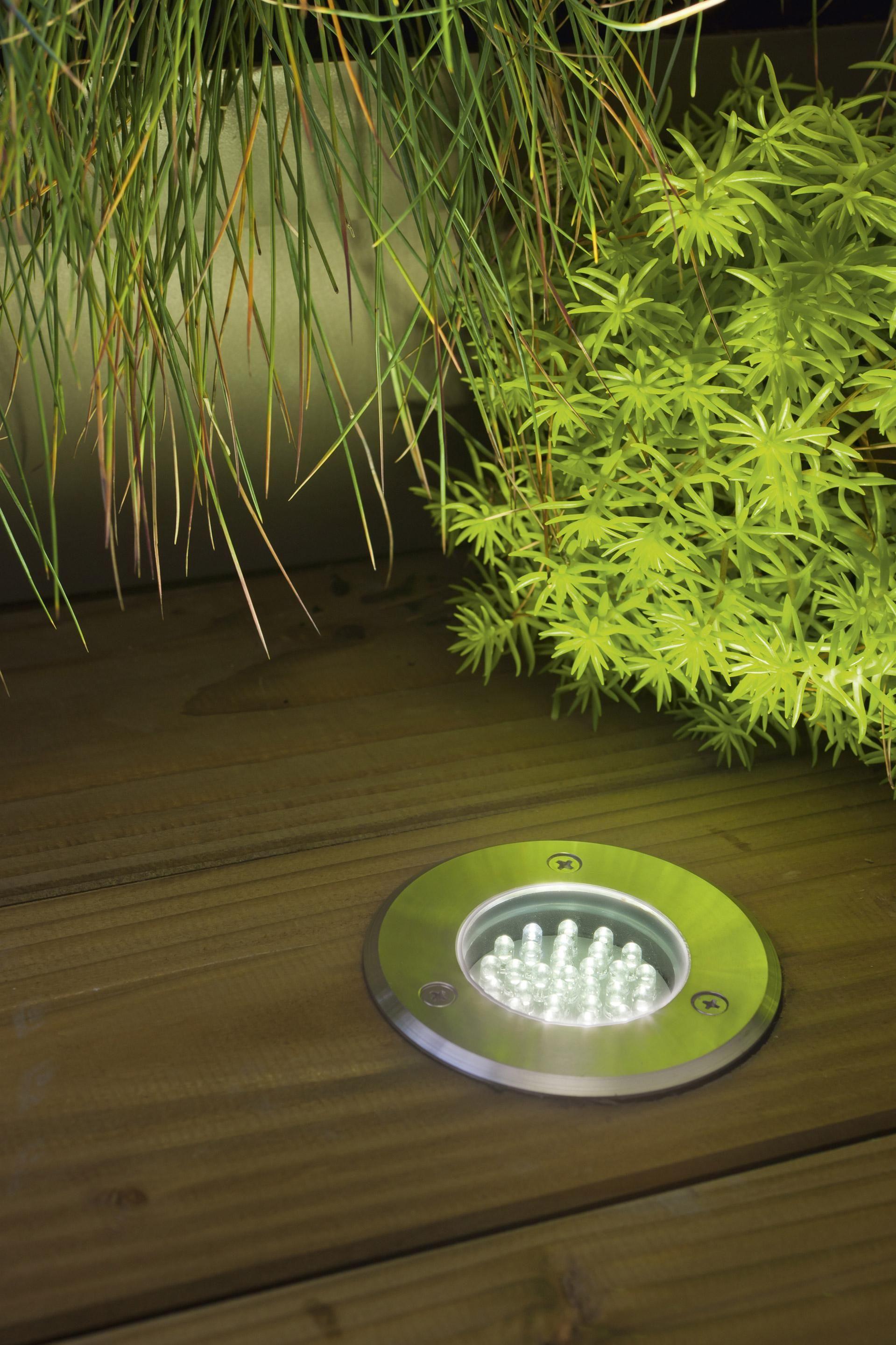 Spot A Encastrer Exterieur 7 5 Cm Acier Inoxydable Acier Inoxydable Exterieur Inoxydable