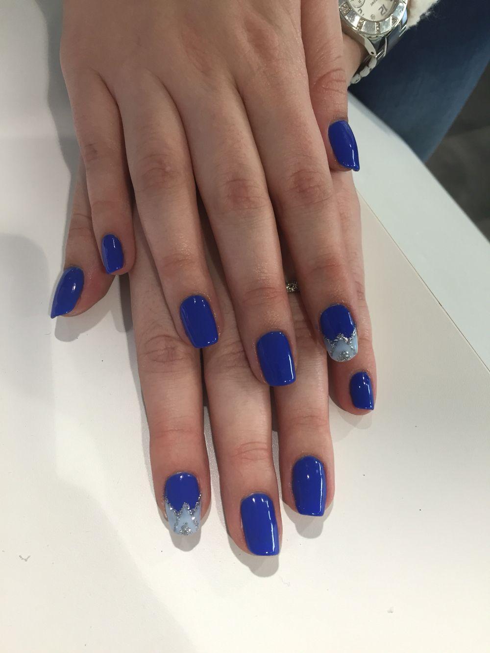 Semi permanent bleu Shellac ITSTYLE