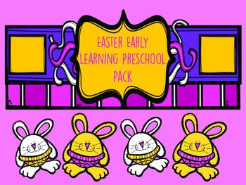 This is a perfect packet for your Early Learner/Preschooler. It includes 10 ready to use pages for Easter!