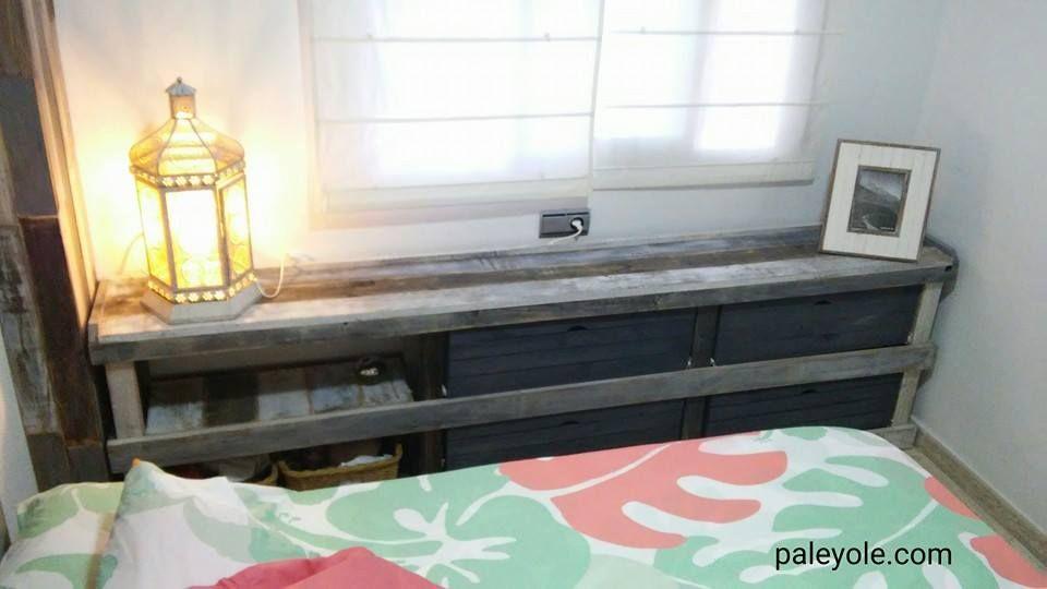 Muebles hechos con madera de Palet /palé http://www.paleyole.com