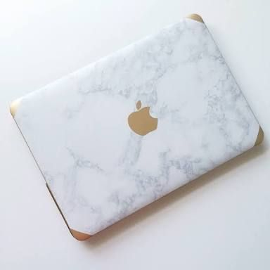 Marble And Rose Gold Macbook Air Google Search Gold Office Accessories Macbook Covers Office Accessories