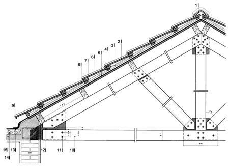 Resultado de imagen para cerchas en madera arquitectura for Tejados de madera a dos aguas