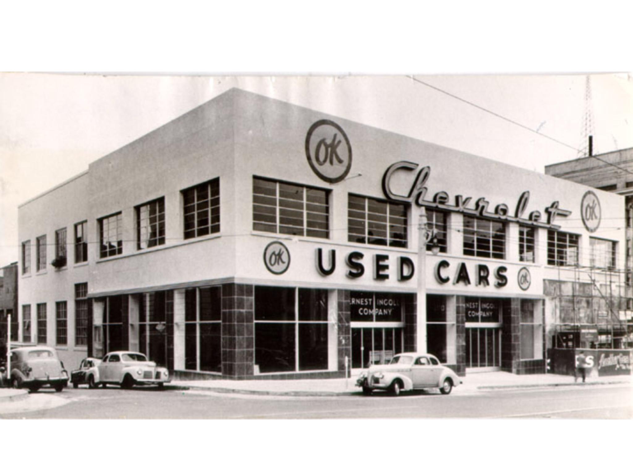 Ernest Ingold Chevrolet Dealership Los Angeles California