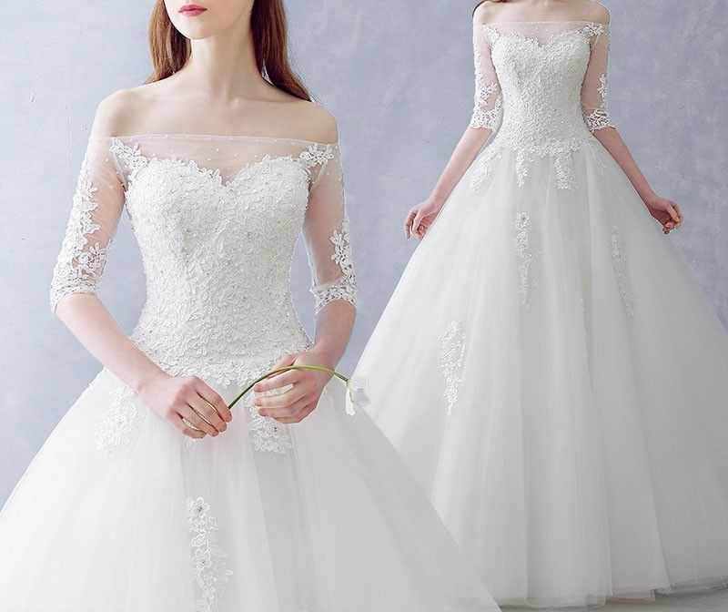 Wedding Gown Korean Style: Free Shipping Korean Tutu Princess Bride Bra White Wedding
