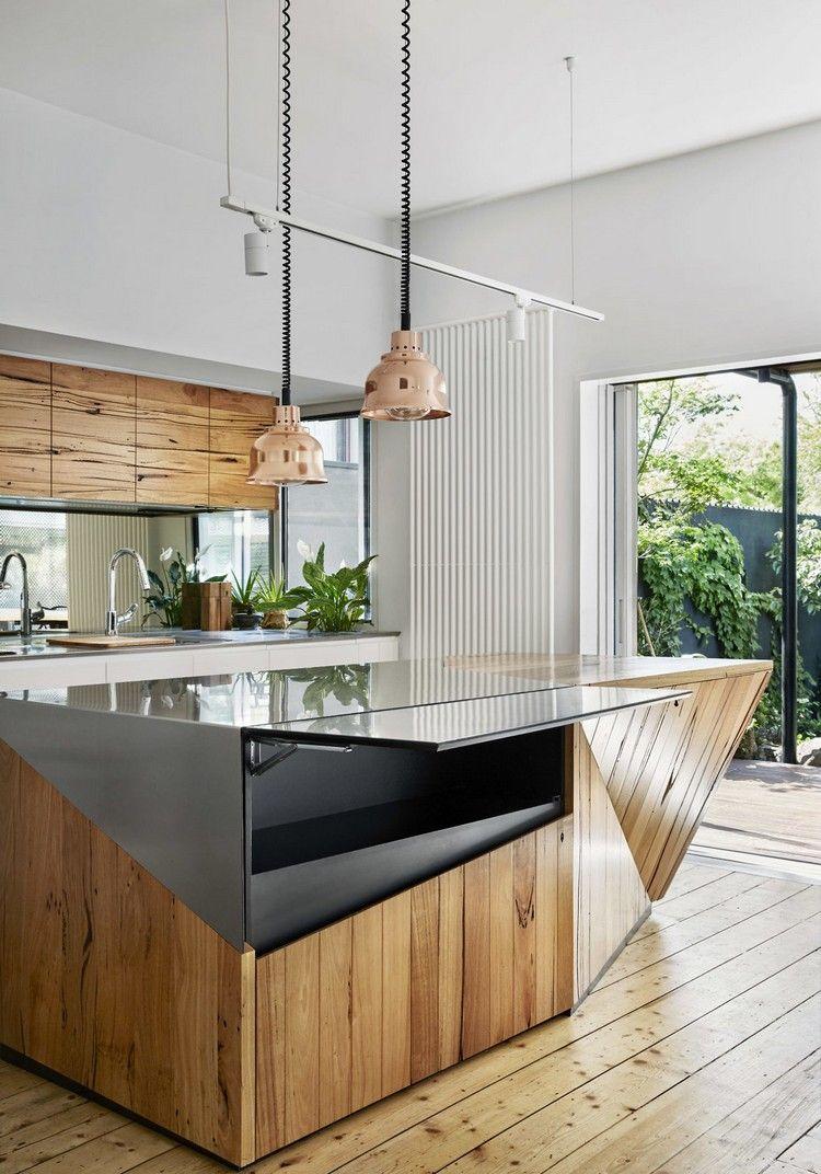 renovierte küche kücheninsel stauraum #house | Architektur ...