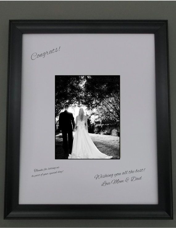 16x20 white signature mat for 8x10 picture in black 1 12 wooden frame perfect for weddings reunions etc