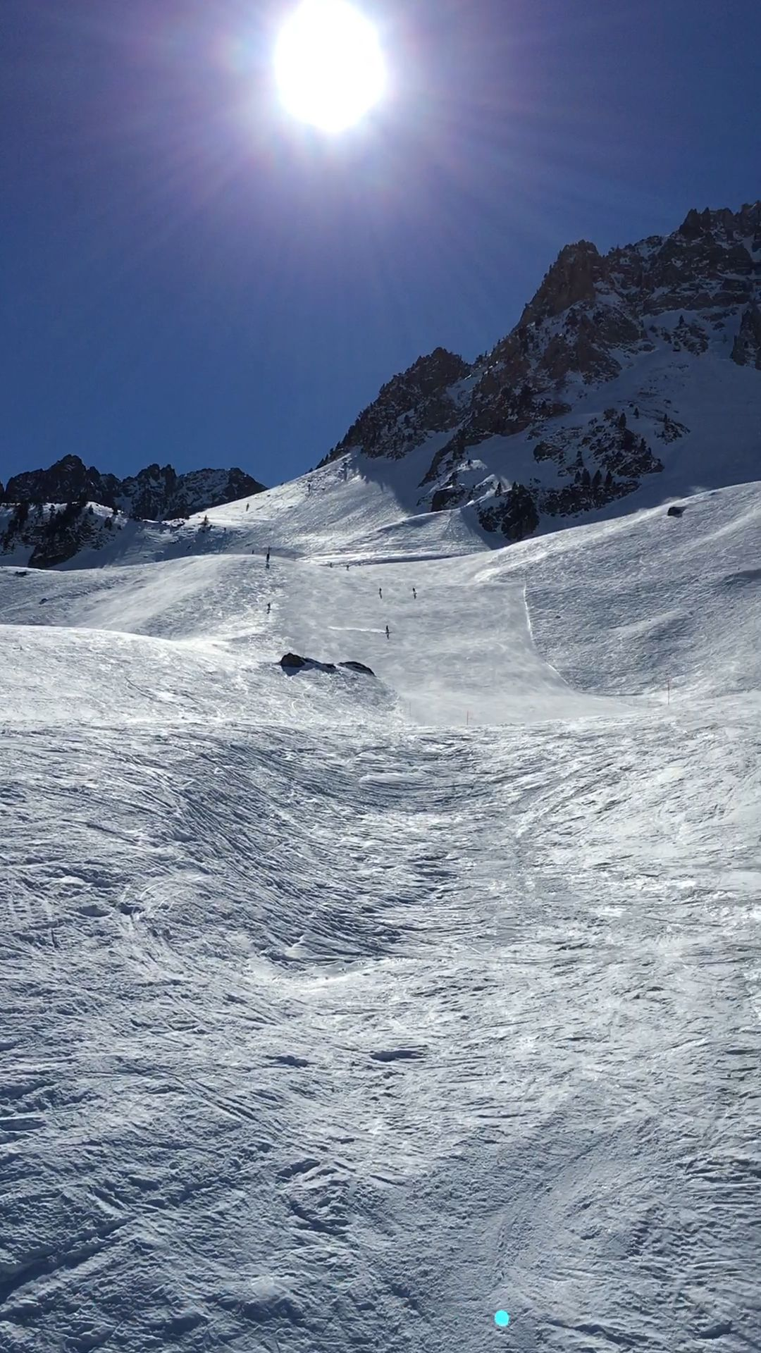 The perfect ski day in France #France #Pyrenees #ski #Europe #travel