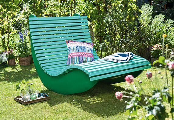 relaxliege garten modern, paar-relax-liege | puutarha&piha | pinterest | garten and pallets, Design ideen