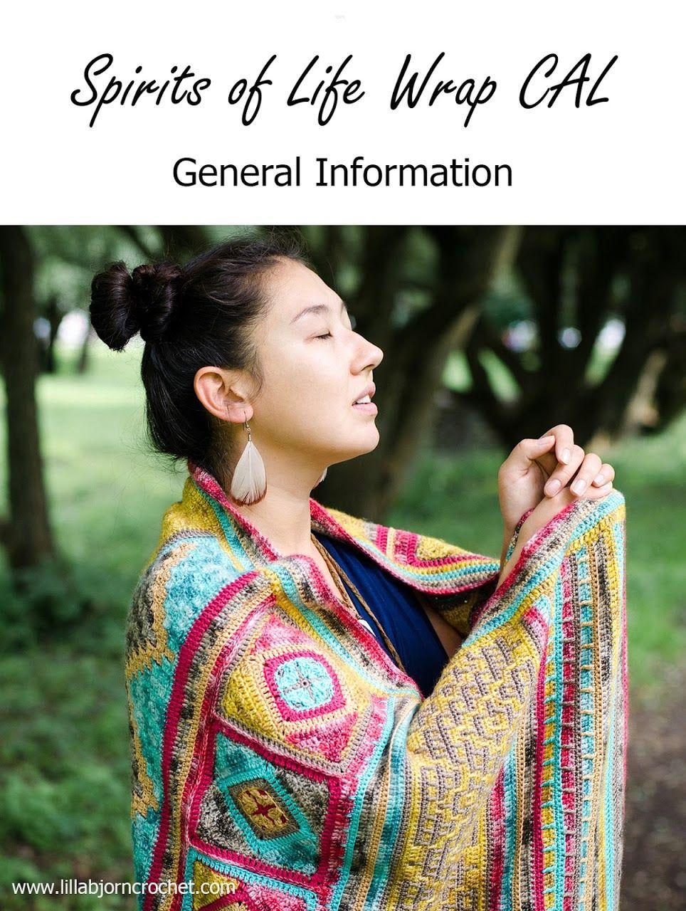 Spirits of Life Wrap CAL: General Information   Häkelanleitung ...