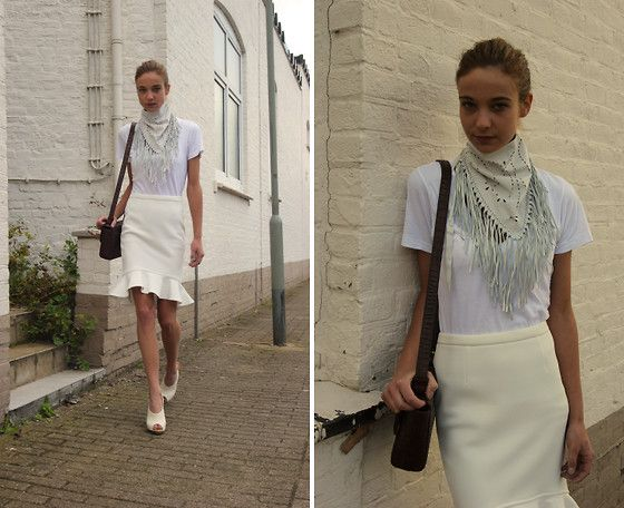 All white. (by Annemiek .) http://lookbook.nu/look/3767235-All-white