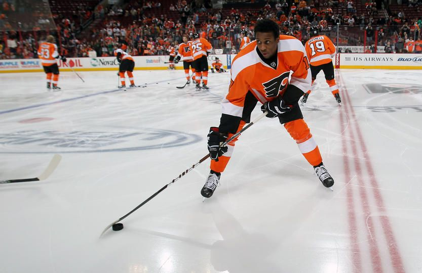 Wayne Simmonds Is Seriously Tough Flyers Hockey Tv Schedule Game Streaming