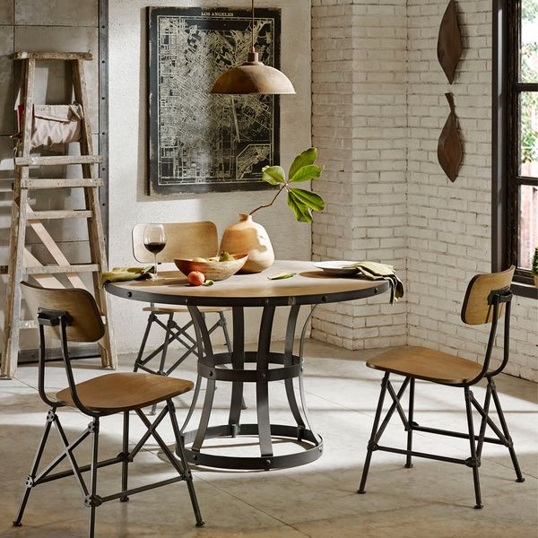 Ivy Club Apartments: Ink+Ivy Cooper Round Concrete Dining Table