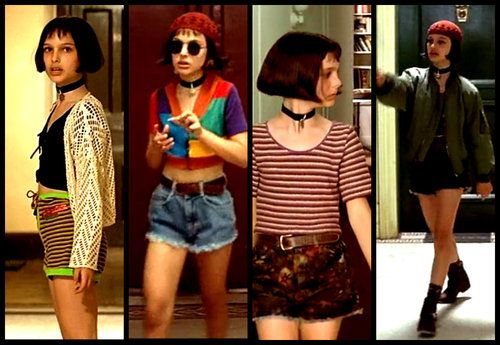 Channel Your Inner Mathilda Fashion Professional Costumes 90s Fashion