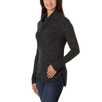 Hilary Radley Ladies' Cowl Neck Sweater | chic clothing ...