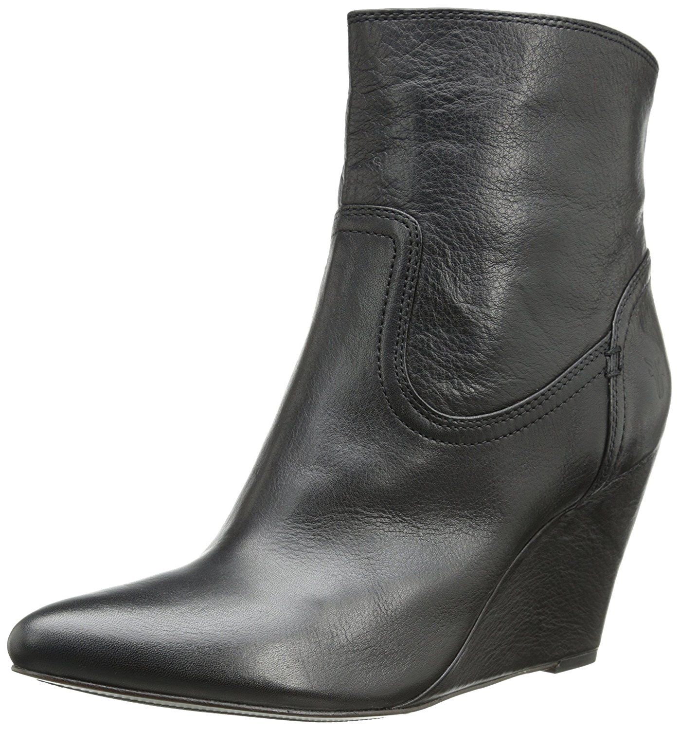Amazon.com | FRYE Women's Regina Covered Wedge Boot | Ankle & Bootie