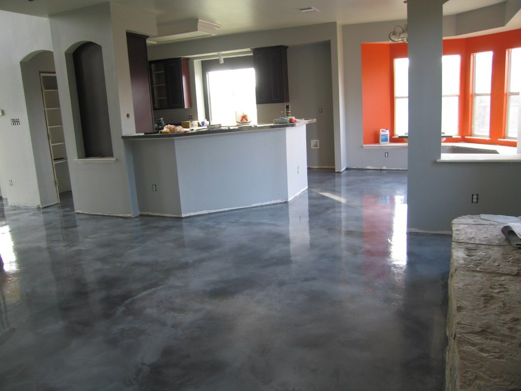 grey stained concrete floors. Image detail for  Vivid Decorative Concrete Fort Worth Acid Stain Flooring