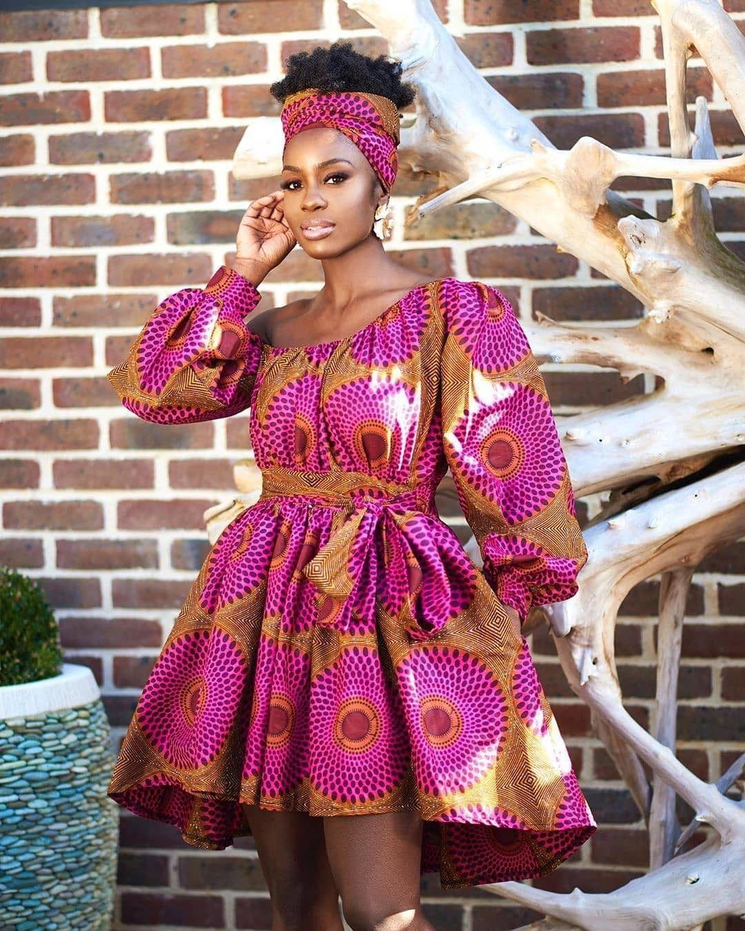 2019 Sweet and Lovely Ankara Short Gown Styles | Robe africaine, Mode africaine robe et Robe en ...