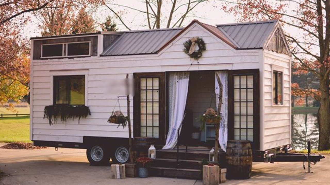 Pin By Sib On Tiny Tiny Mobile House Tiny Cottage Tiny Houses For Sale