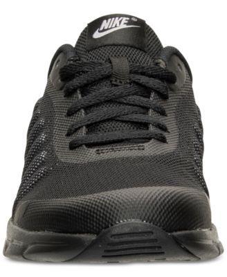 half off 701e3 84b1f ... sweden nike little boys air max invigor running sneakers from finish  line black 13 640f1 566f8