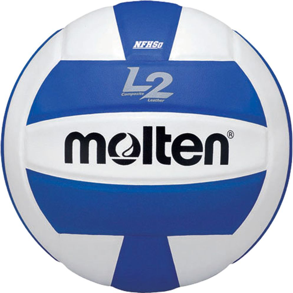 Molten L2 Replica Composite Indoor Volleyball Blue Volleyball Tachikara Volleyball Indoor