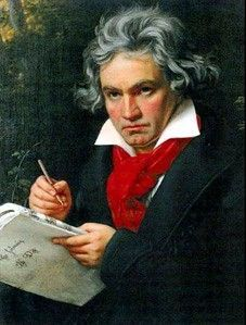Free sheet music : Beethoven, Ludwig van - Symphonies (1 to 9 - Themes) (Alt Sax or Clarinet (Eb))